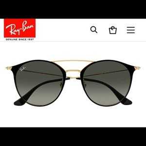 Authentic NWOT Ray Ban RB3546 187/71 Sunglasses